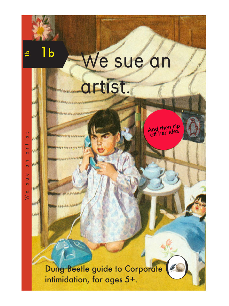we sue an artist